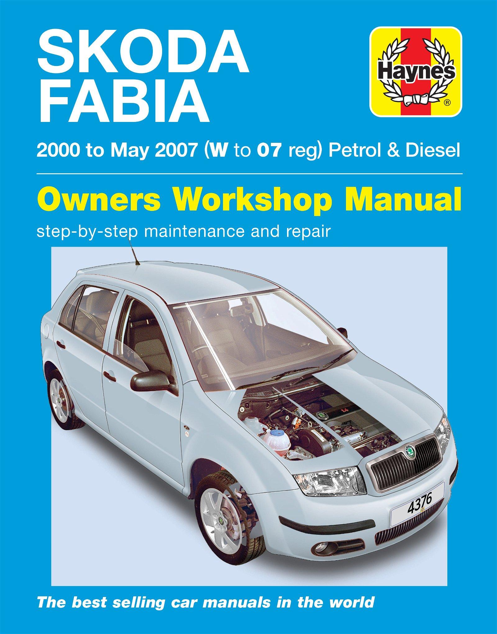 [Manuel UK en Anglais] Skoda Fabia Petrol & Diesel  (00 - 07)  W to 07