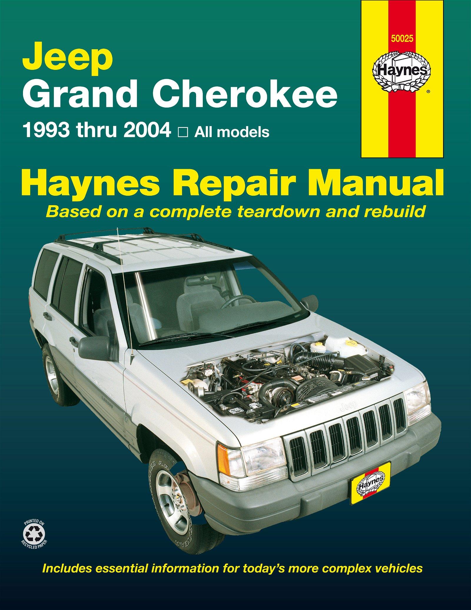 [Manuel US en Anglais] Jeep Grand Cherokee  '93 -  '04
