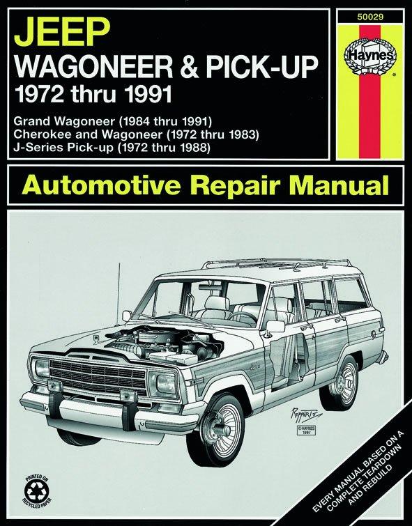 [Manuel US en Anglais] Jeep Wagoneer /J-Series  '72 -  '91