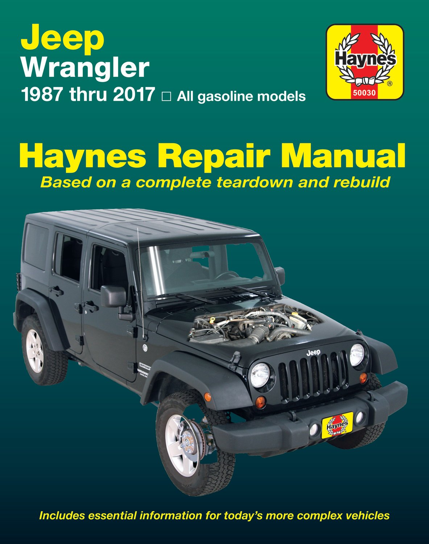 [Manuel US en Anglais] Jeep Wrangler  ' 87 -  '17