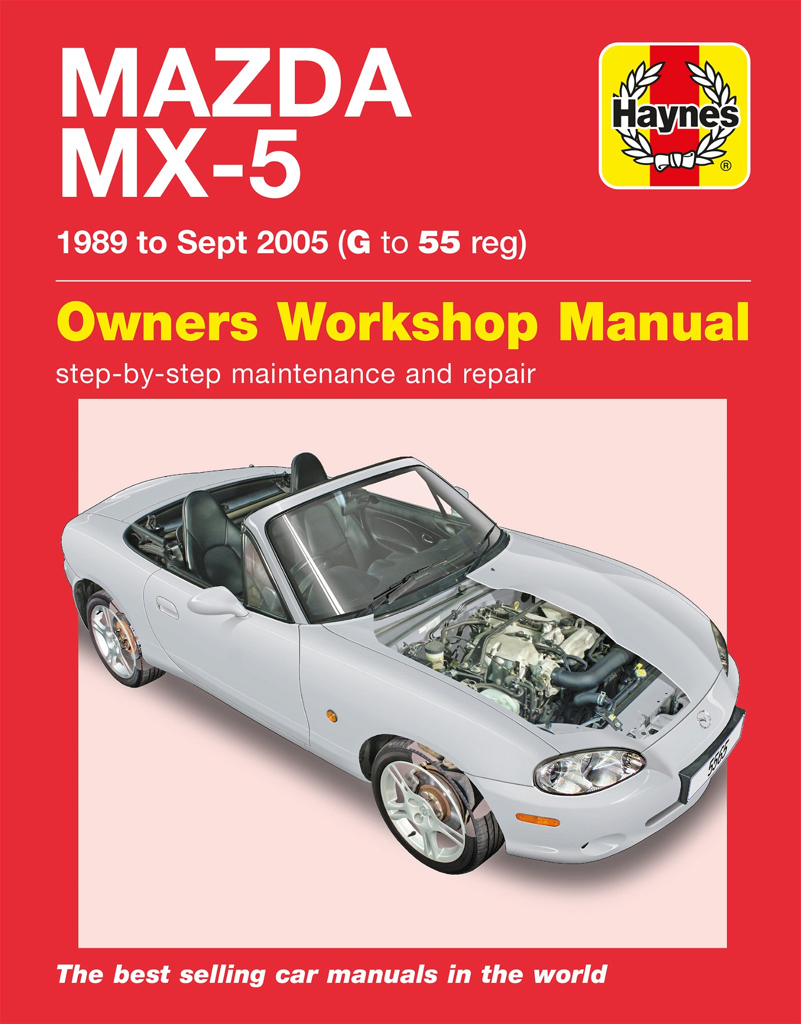 [Manuel UK en Anglais] Mazda MX-5  (89 - 05)  G to 05