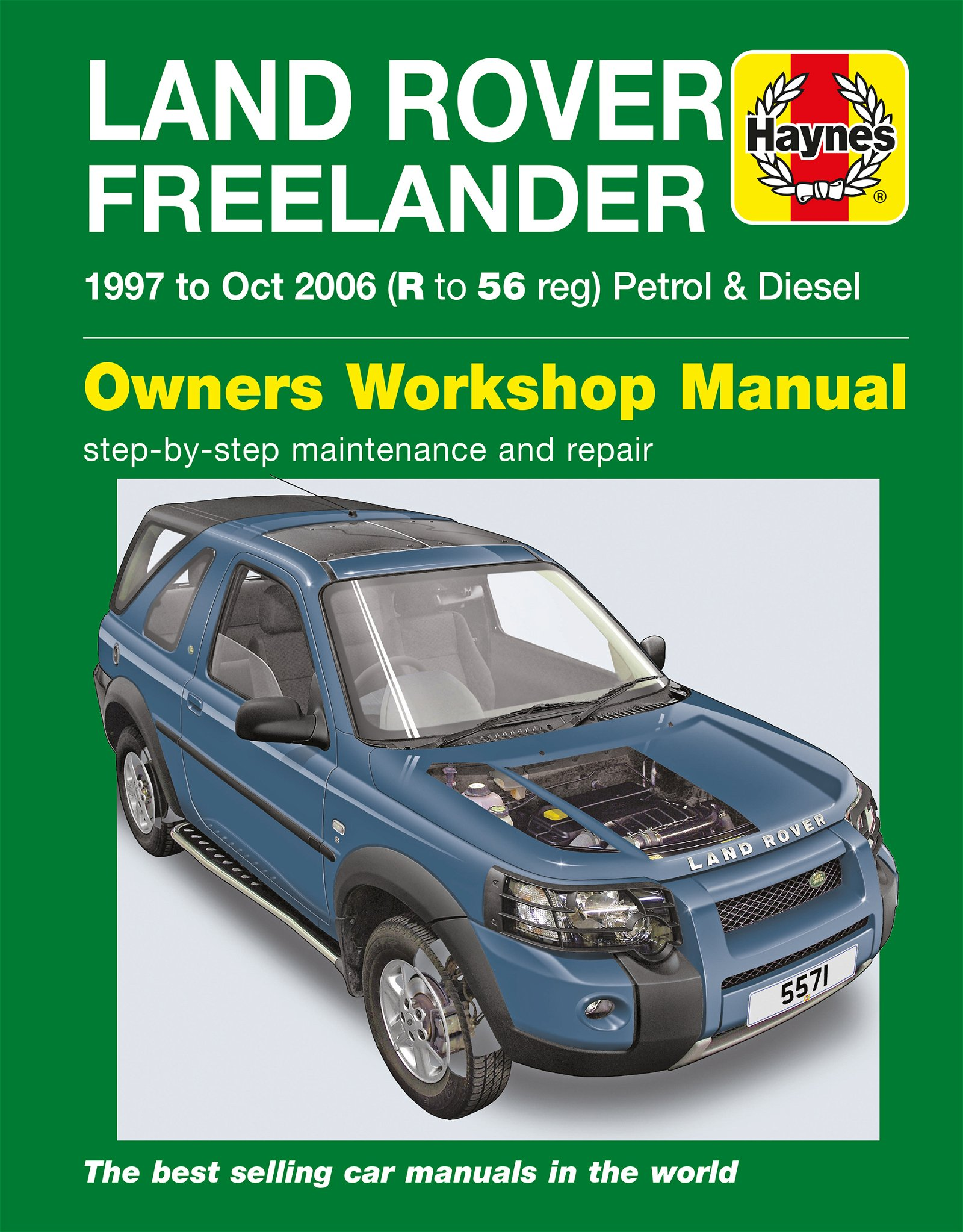 [Manuel UK en Anglais] Land Rover Freelander  (97 - Oct 06)  R to 56