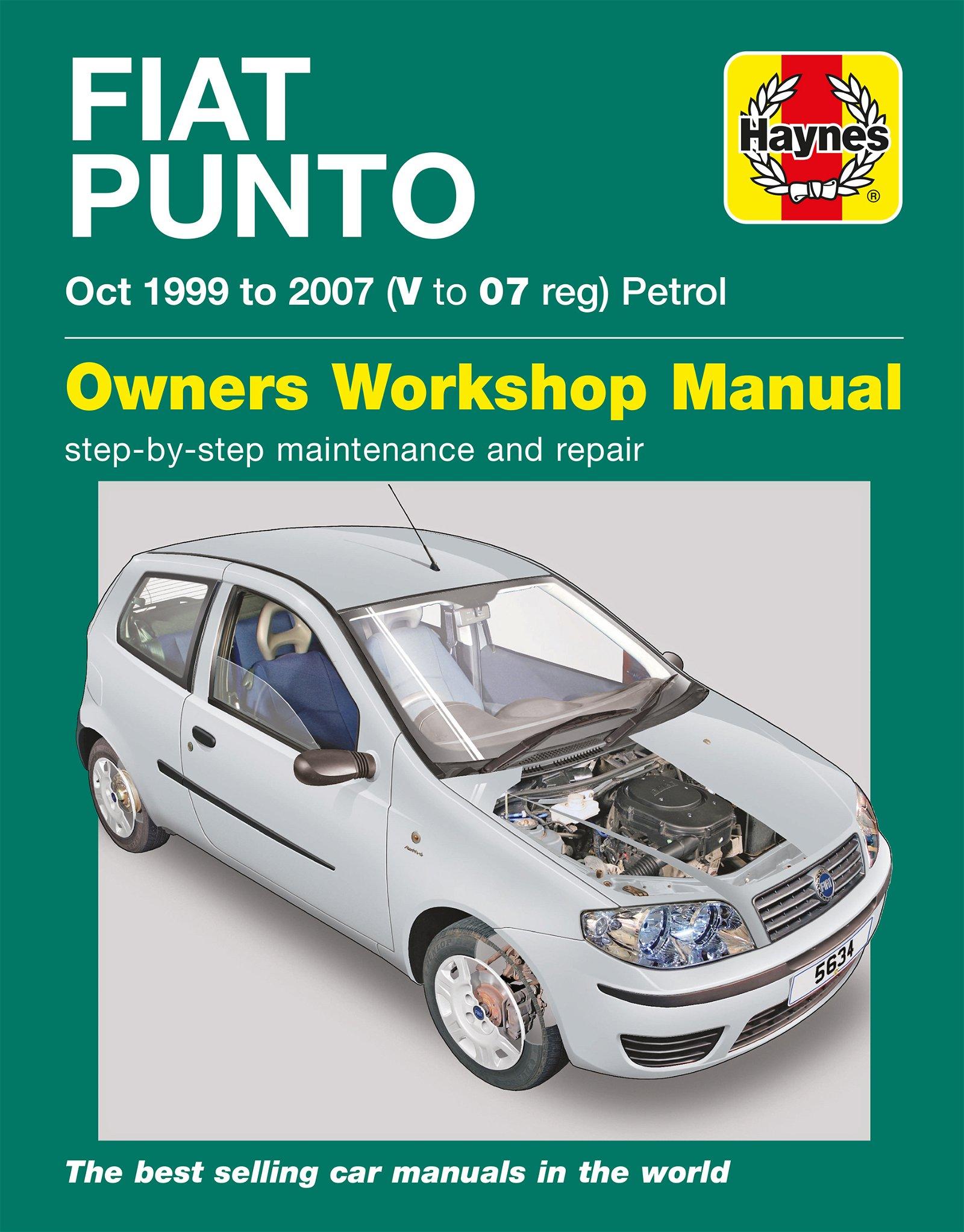 [Manuel UK en Anglais] Fiat Punto Petrol  (Oct 99 - 07)  V to 07