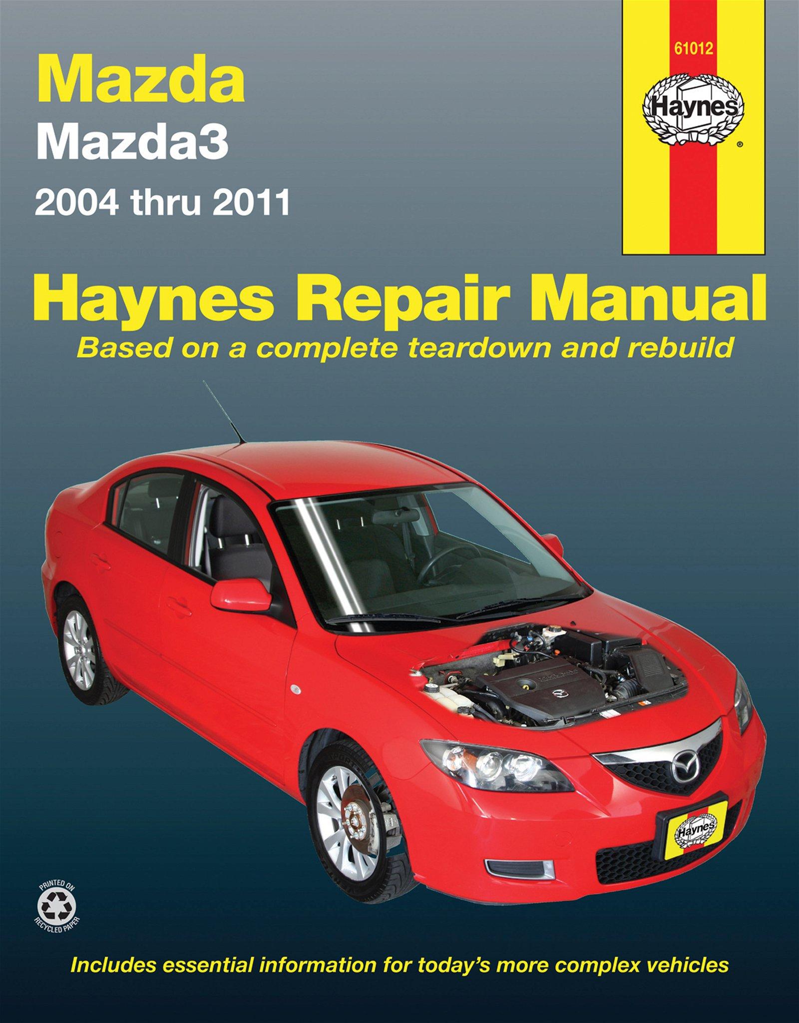[Manuel US en Anglais] Mazda 3  '04 -  '11