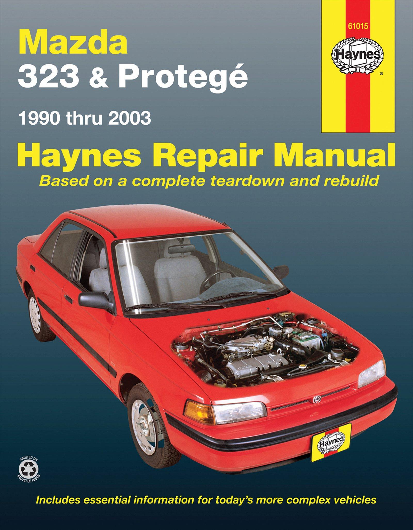 [Manuel US en Anglais] Mazda 323 & Protegé  '90 -  '03