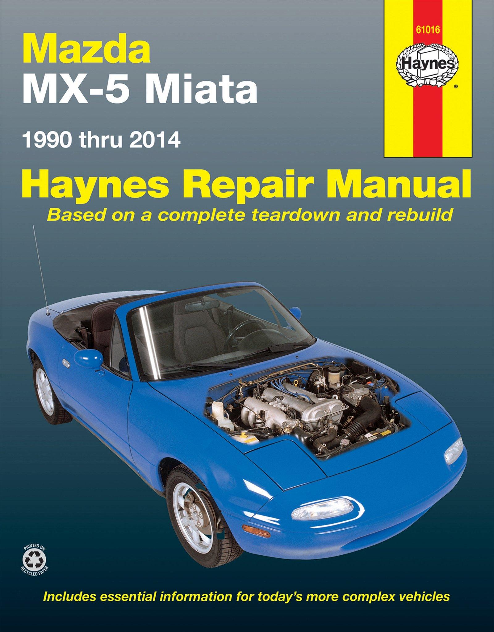 [Manuel US en Anglais] Mazda MX-5 Miata  '90 -  '14