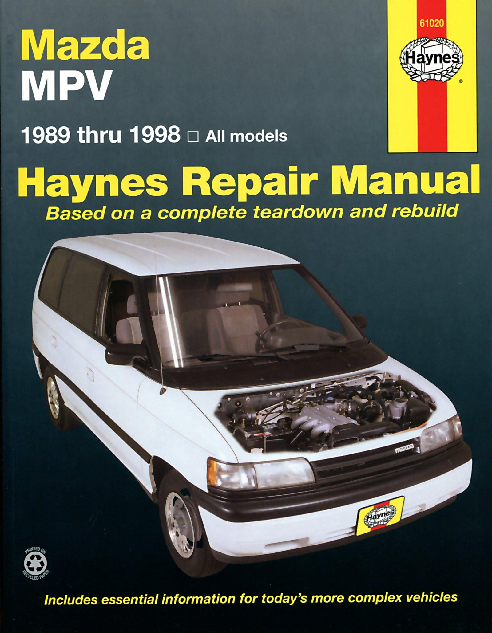 [Manuel US en Anglais] Mazda MPV  '89 -  '98