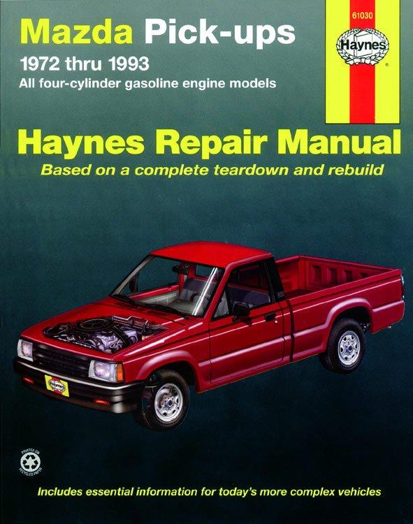[Manuel US en Anglais] Mazda Pick-ups  '72 - '93