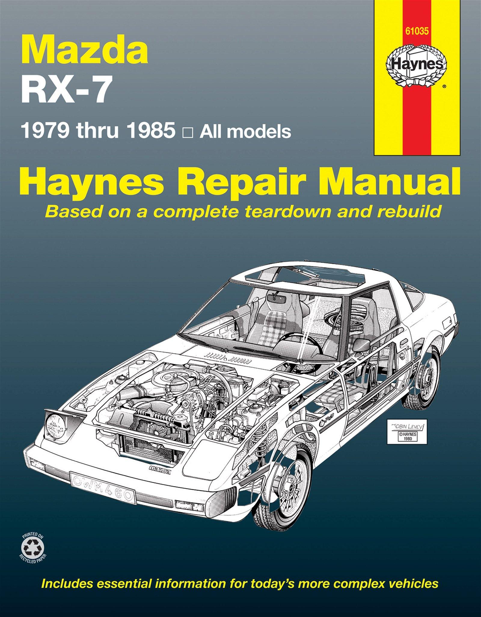 [Manuel US en Anglais] Mazda RX7 Rotary  '79 -  '85