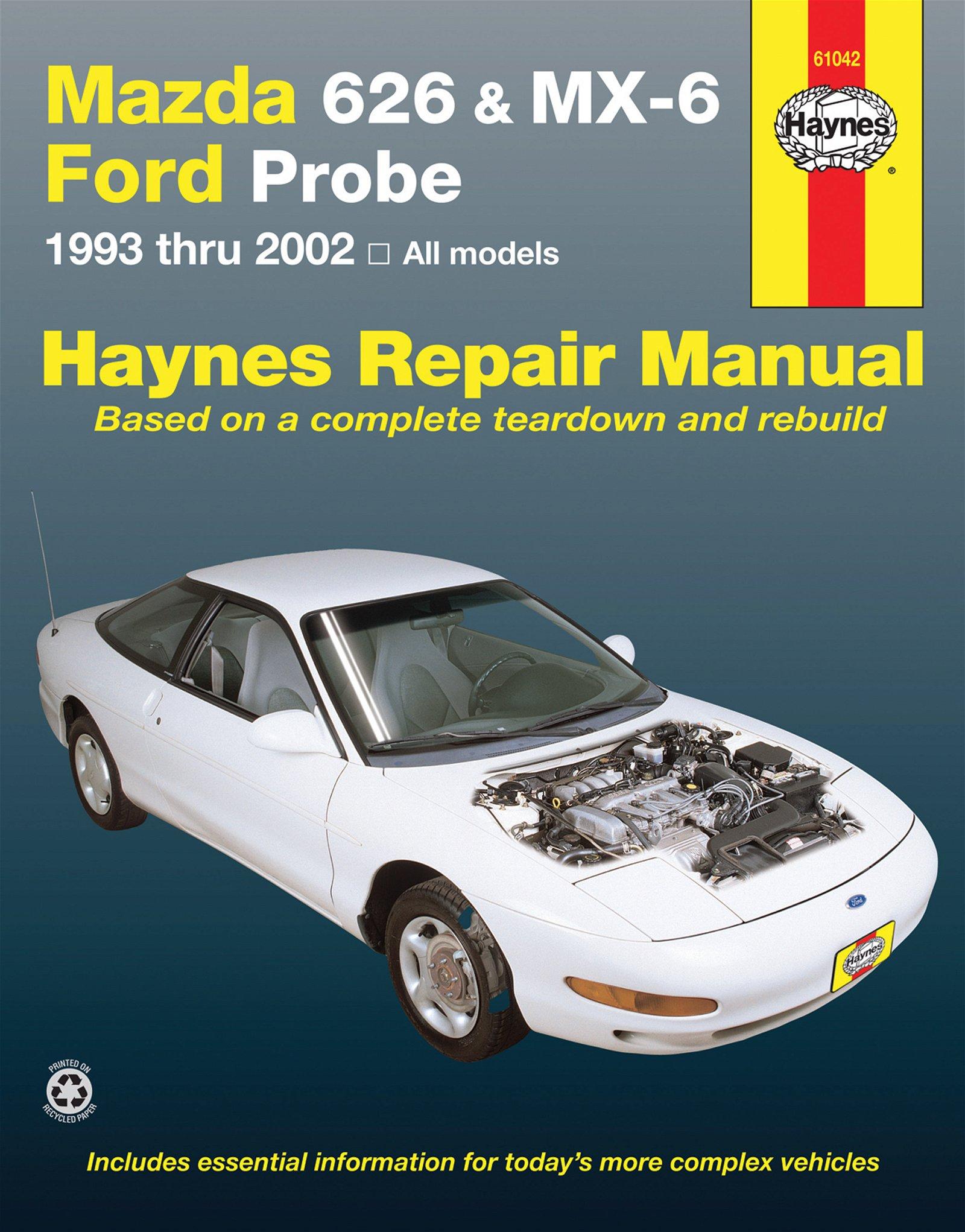 [Manuel US en Anglais] Mazda 626, MX-6 & Ford Probe  '93 -  '02