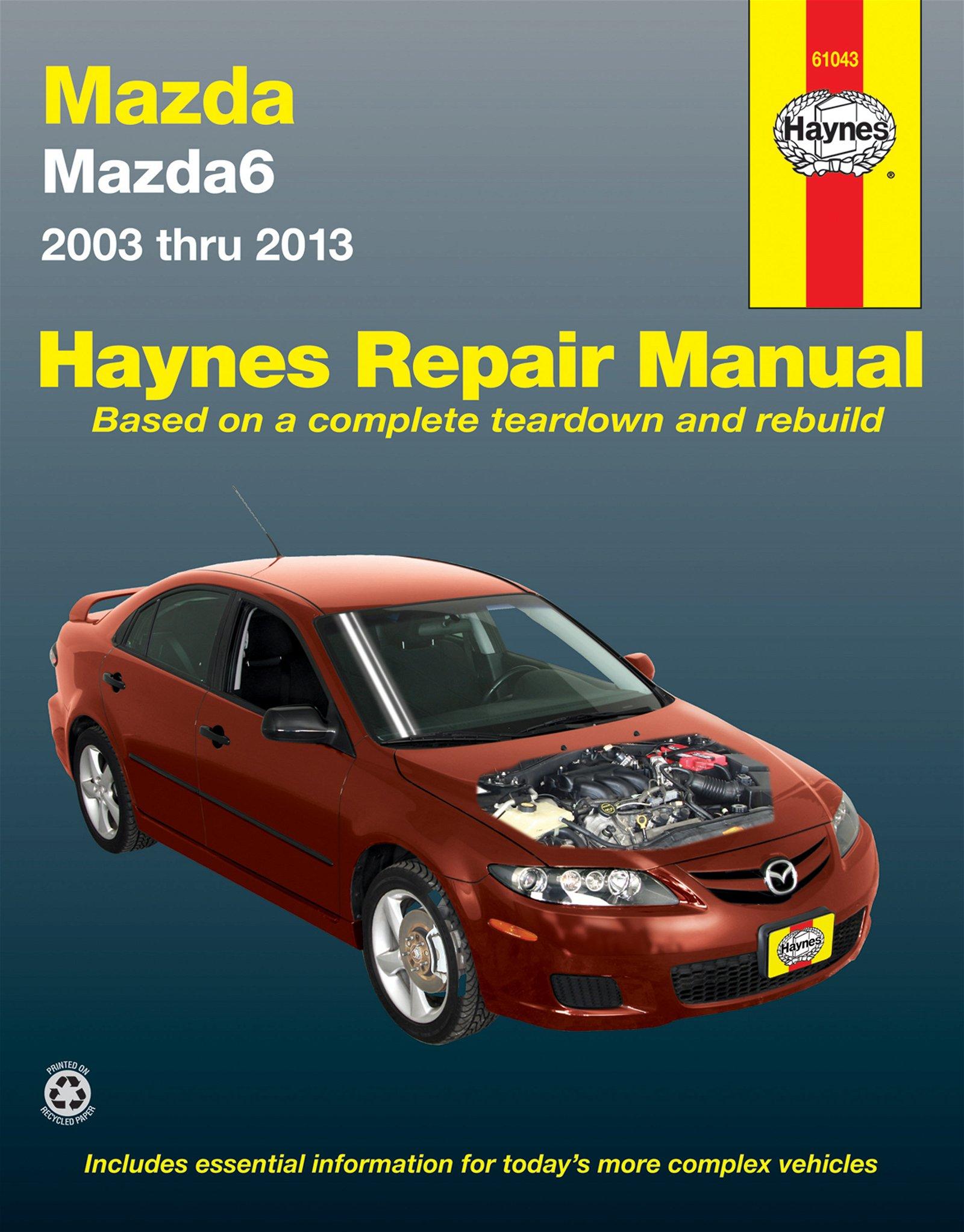 [Manuel US en Anglais] Mazda 6  '03 -  '13
