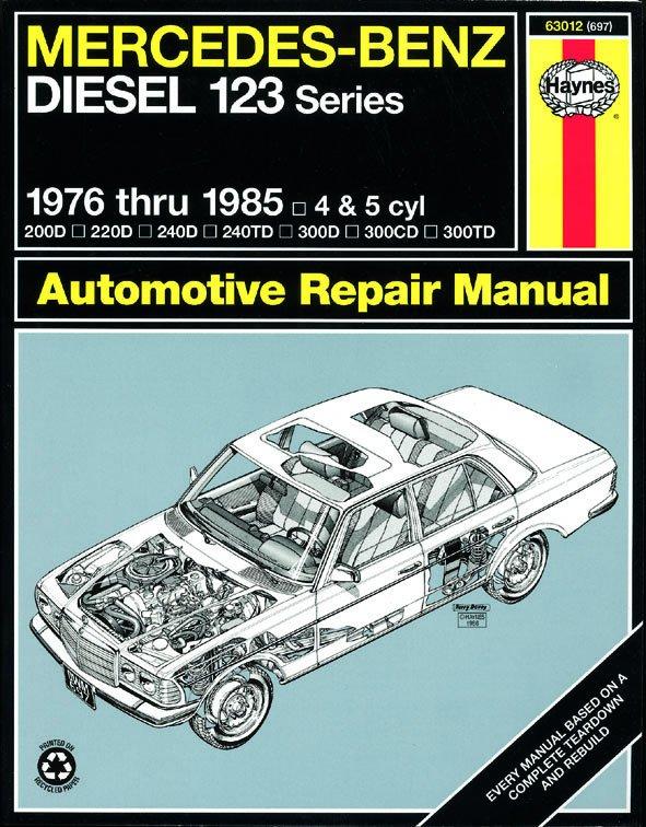 [Manuel US en Anglais] Mercedes-Benz Diesel 123  '76 -  '85