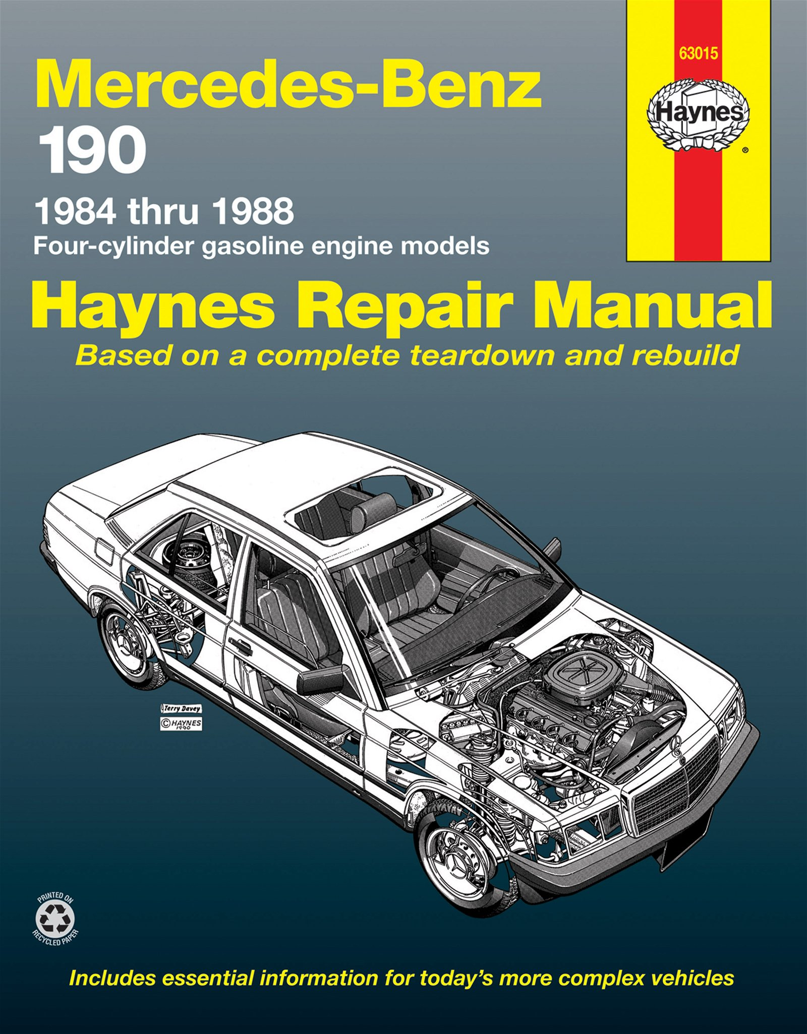 [Manuel US en Anglais] Mercedes-Benz 190 Series  '84 -  '88