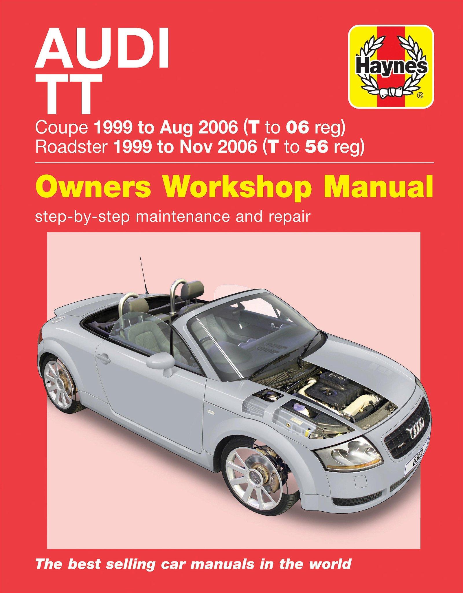 [Manuel UK en Anglais] Audi TT Mk I  (99 - 06)
