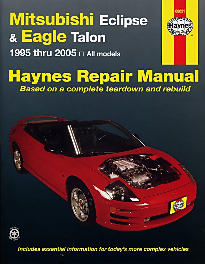 [Manuel US en Anglais] Mitsubishi Eclipse & Eagle Talon,  '95 -  '05