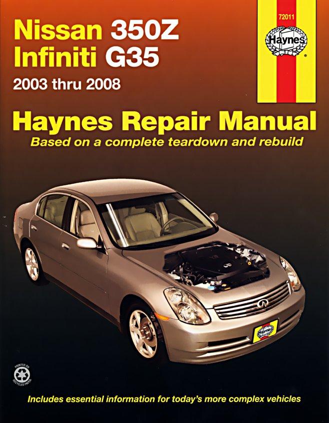 [Manuel US en Anglais] Nissan 350Z & Infiniti  G35  '03 -  '08