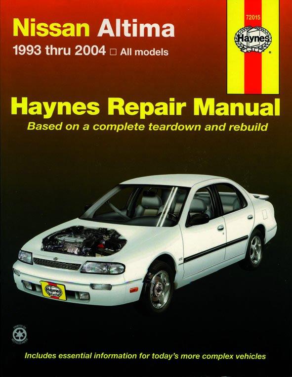 [Manuel US en Anglais] Nissan Altima,  '93 -  '06
