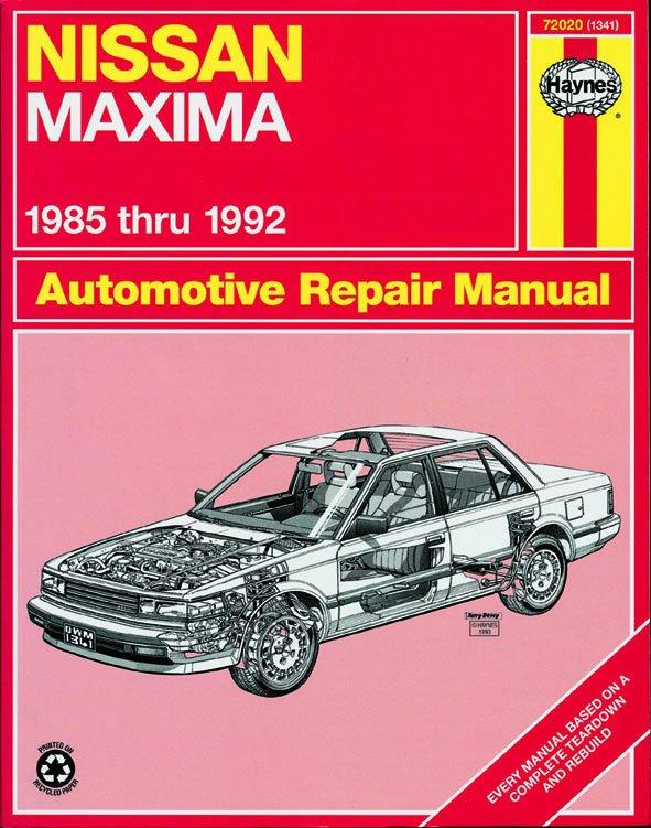 [Manuel US en Anglais] Nissan Maxima  '85 -  '92