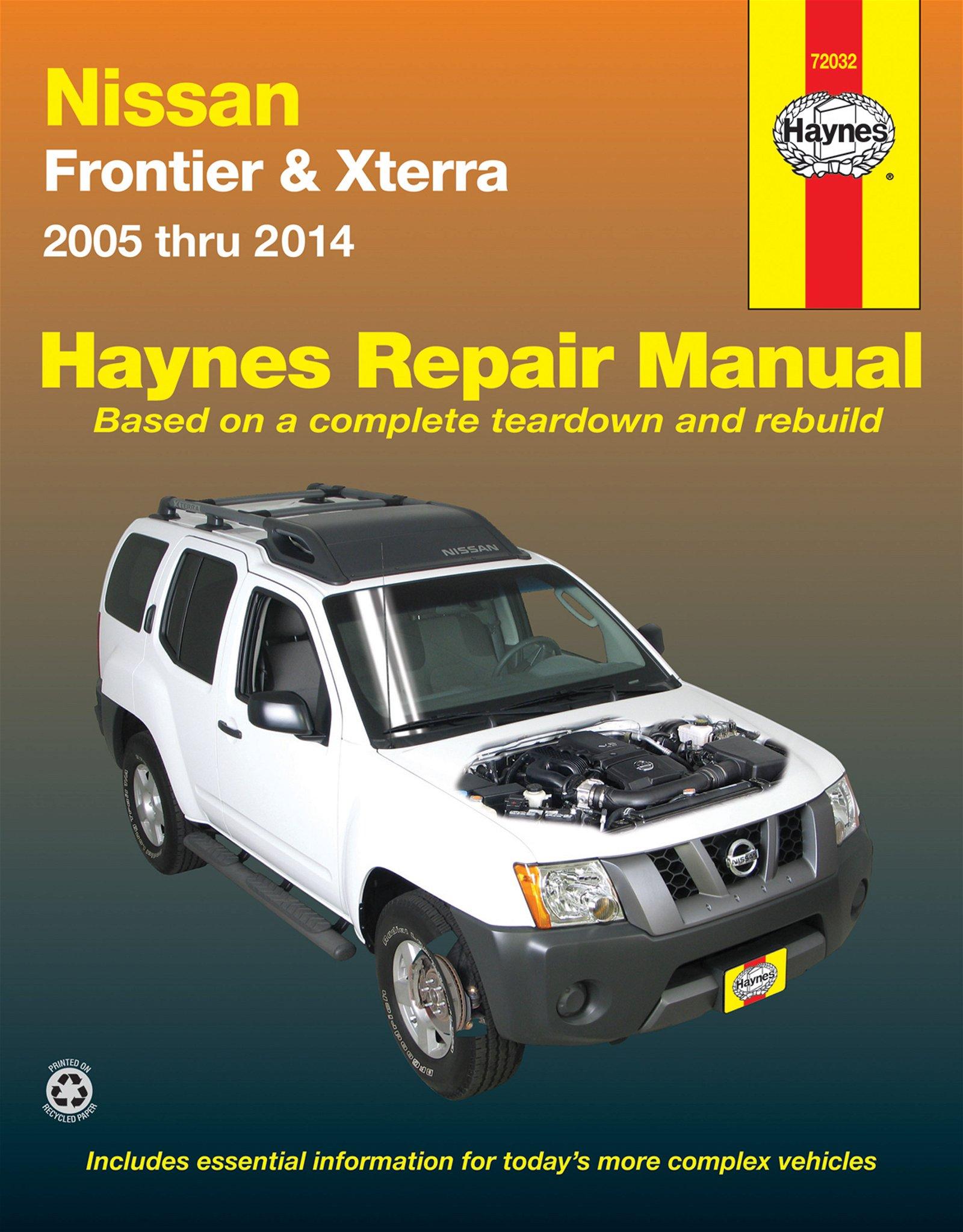 [Manuel US en Anglais] Nissan Frontier & Xterra  '05 -  '14