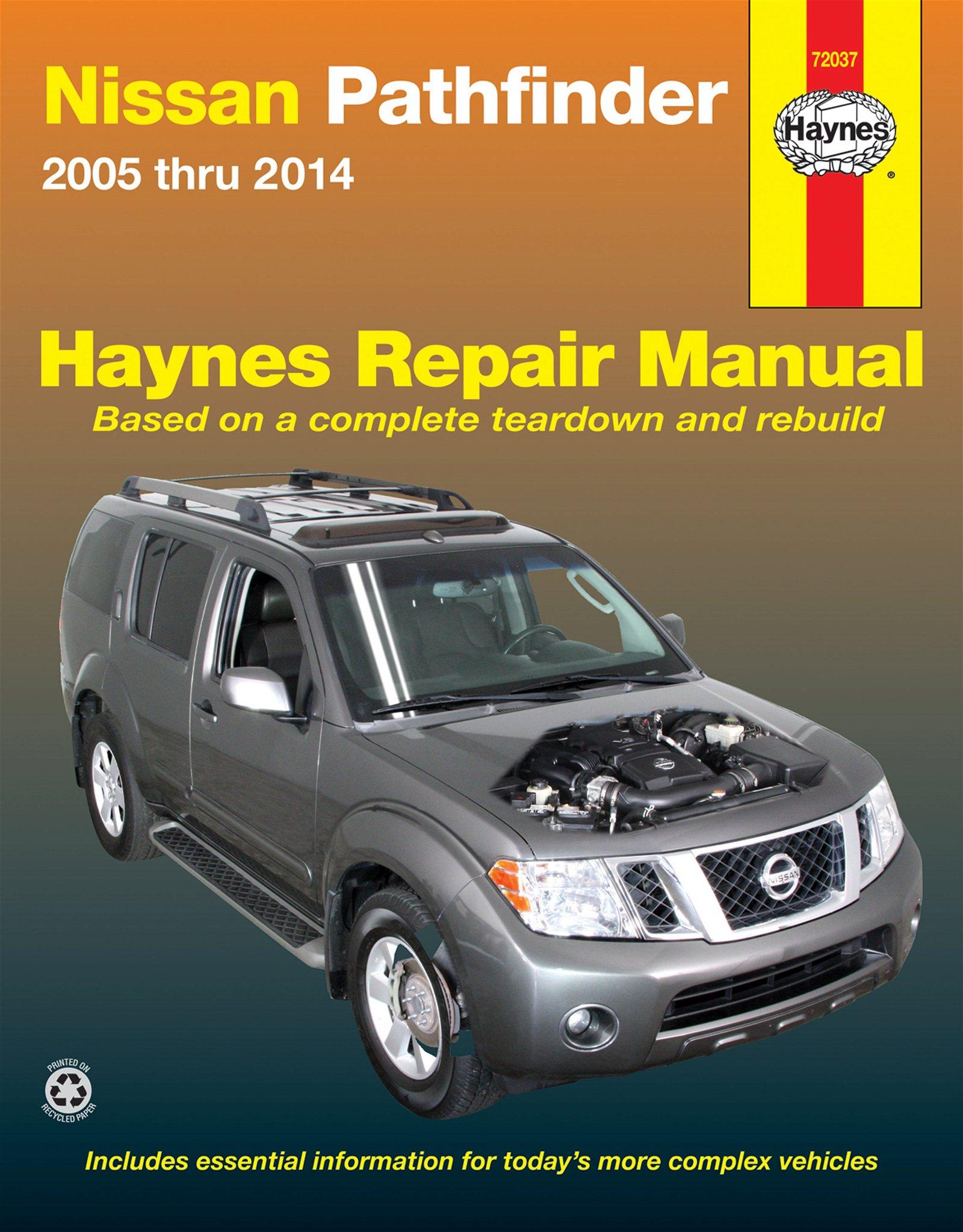 [Manuel US en Anglais] Nissan Pathfinder  '05 -  '14