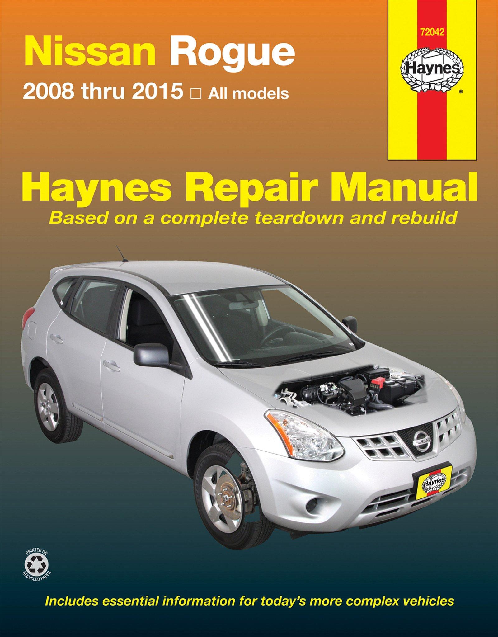[Manuel US en Anglais] Nissan Rogue  '08 -'15