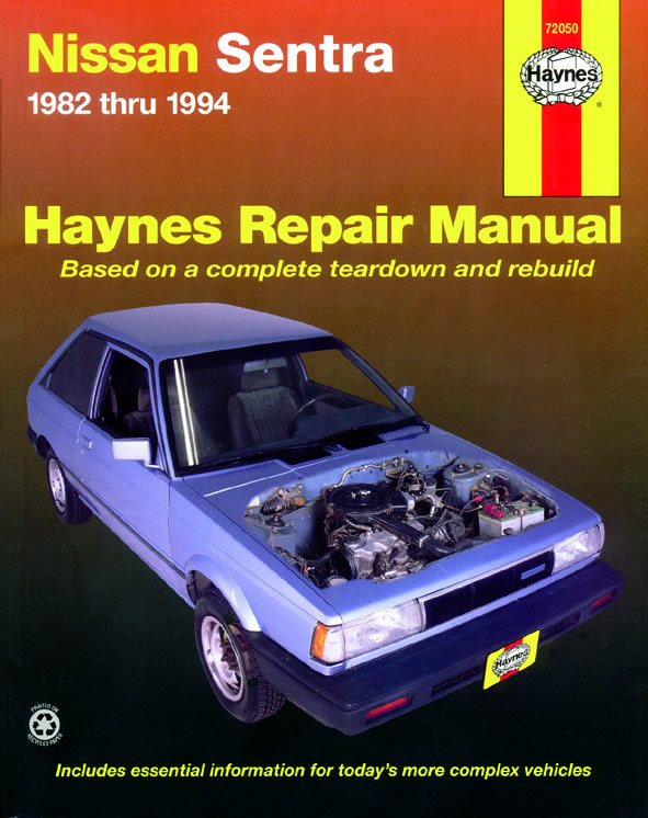[Manuel US en Anglais] Nissan Sentra  '82 -  '94