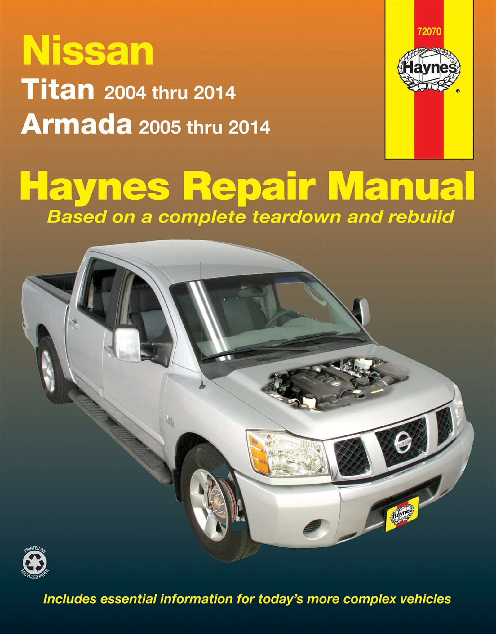[Manuel US en Anglais] Nissan Titan & Armada  '04 –  '14