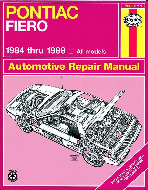 [Manuel US en Anglais] Pontiac Fiero  '84 -  '88