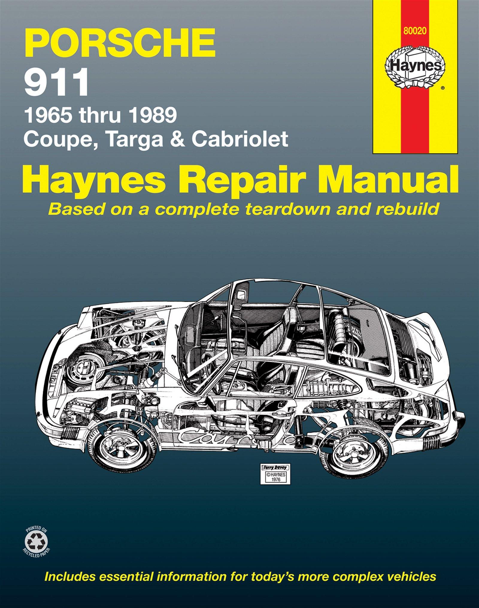 [Manuel US en Anglais] Porsche 911  '65 -  '89