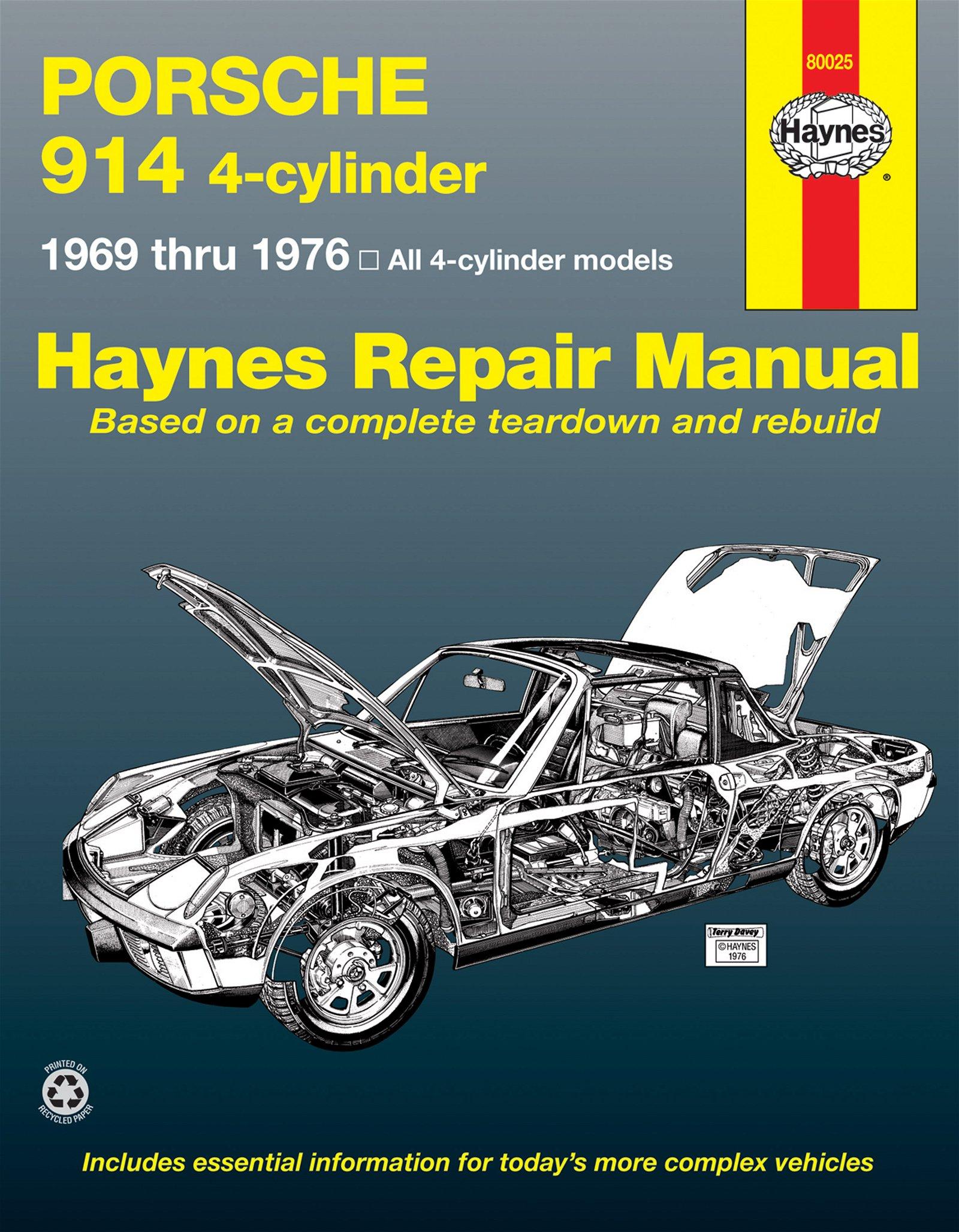 [Manuel US en Anglais] Porsche 914  '69 -  '76