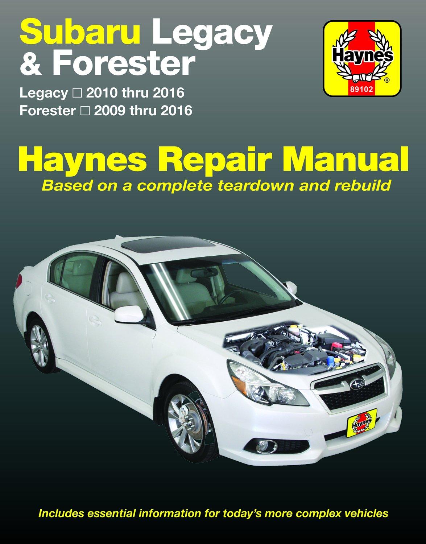 [Manuel US en Anglais] Subaru Legacy  '10 - '16 & Forester  '09 - '16