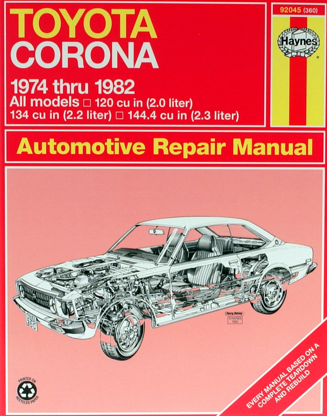 [Manuel US en Anglais] Toyota Corona  '74 -  '82