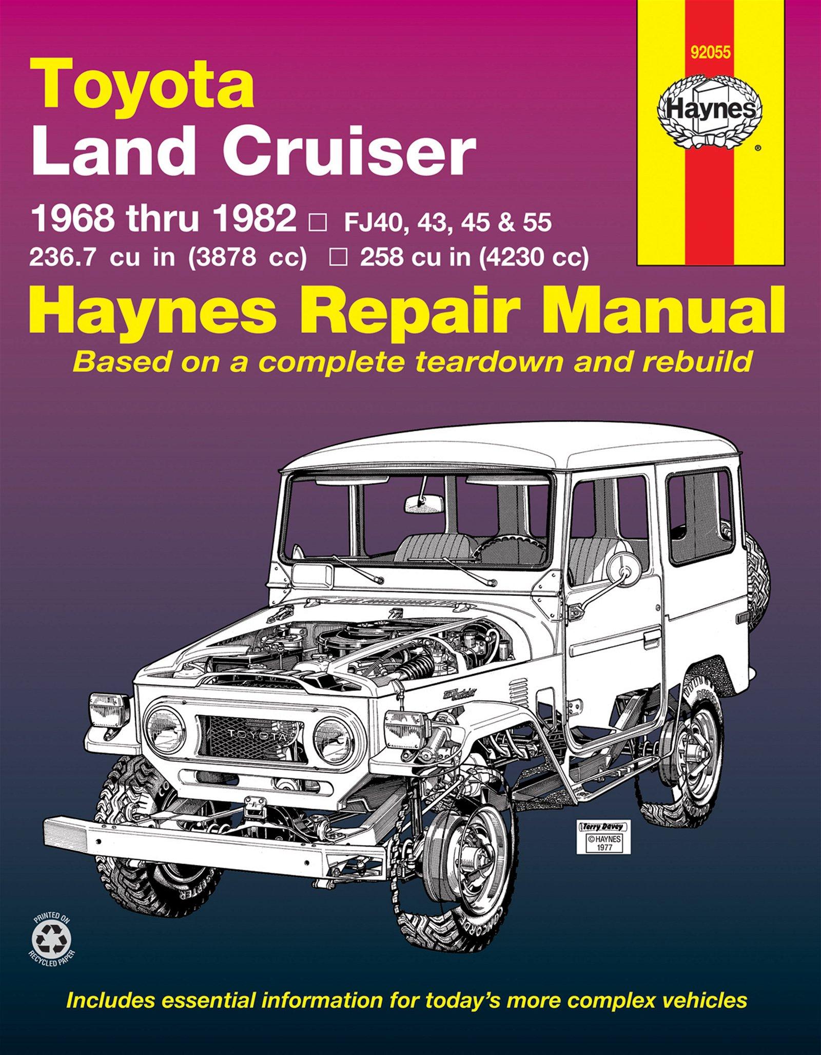 [Manuel US en Anglais] Toyota Land Cruiser FJ40, 43, 45, 55 & 60  '68 -  '82