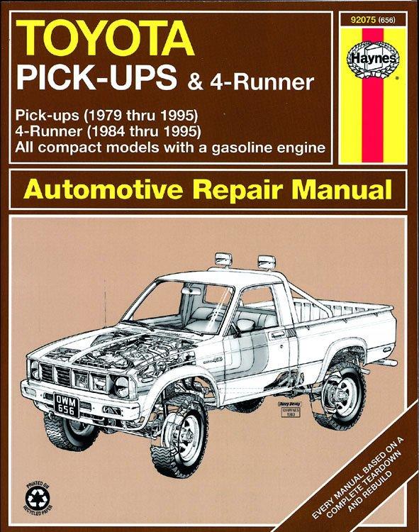 [Manuel US en Anglais] Toyota Pick-up  '79 -  '95