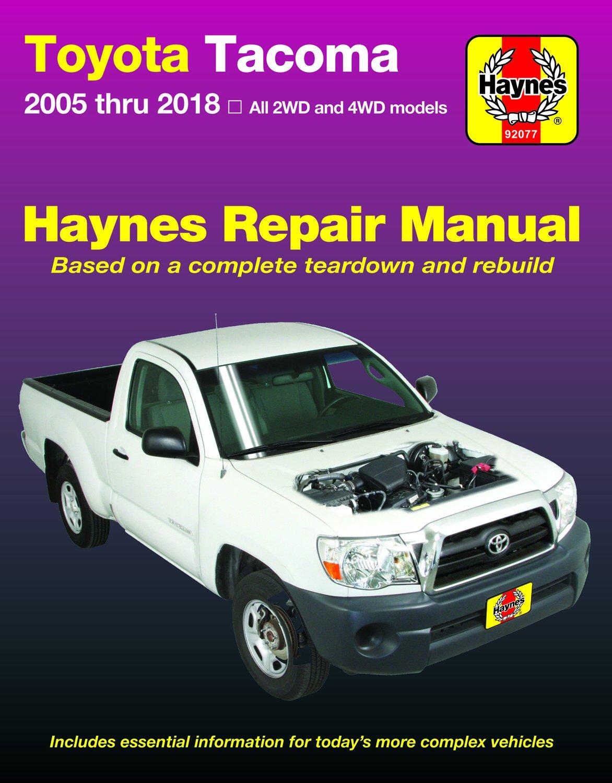[Manuel US en Anglais] Toyota Tacoma  '05 -  '15