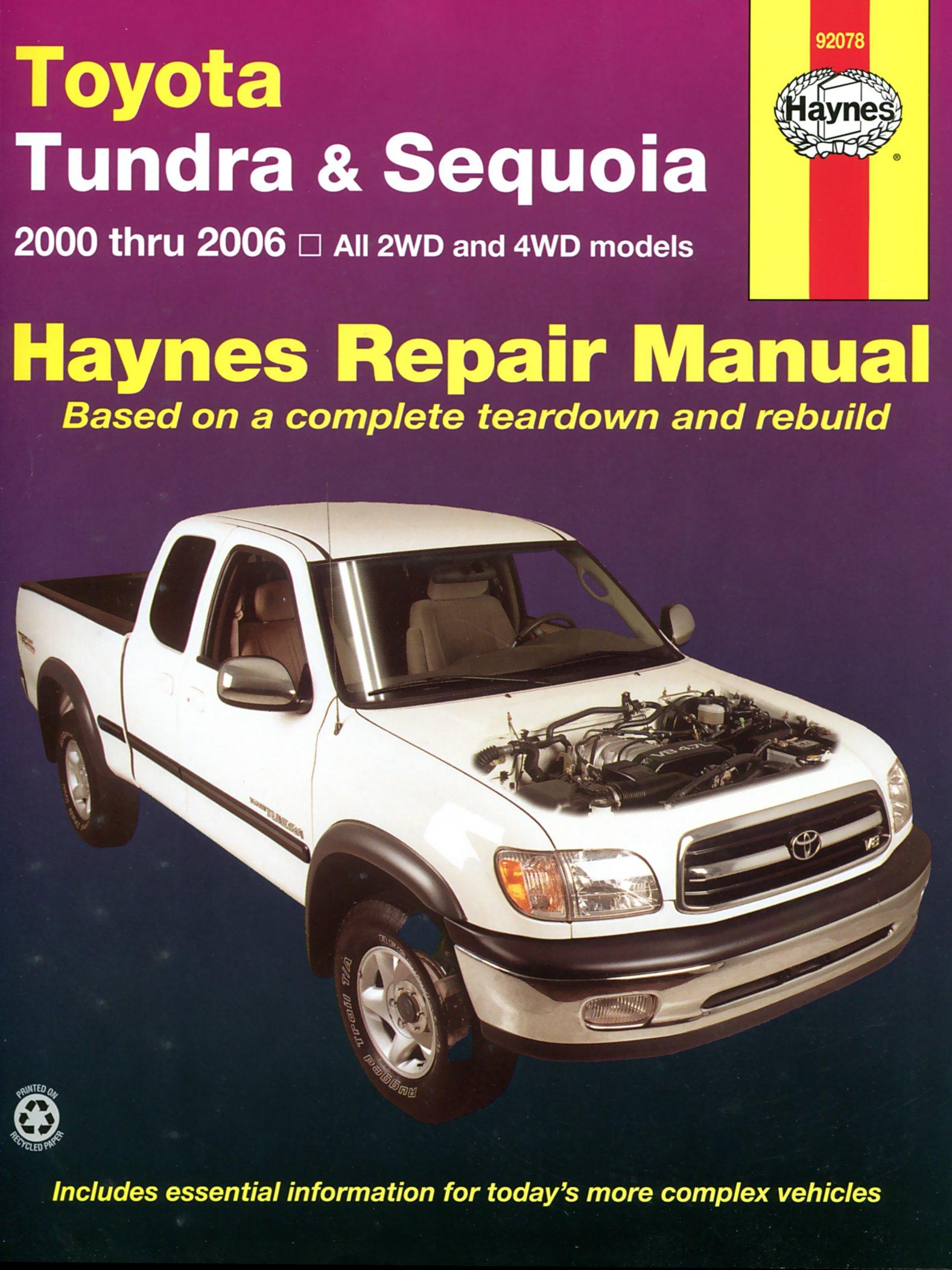 [Manuel US en Anglais] Toyota Tundra & Sequoia  '00 -  '07