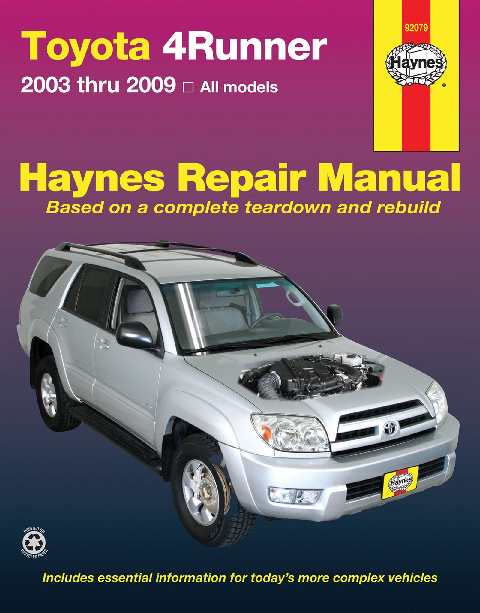 [Manuel US en Anglais] Toyota 4Runner  '03 -  '09