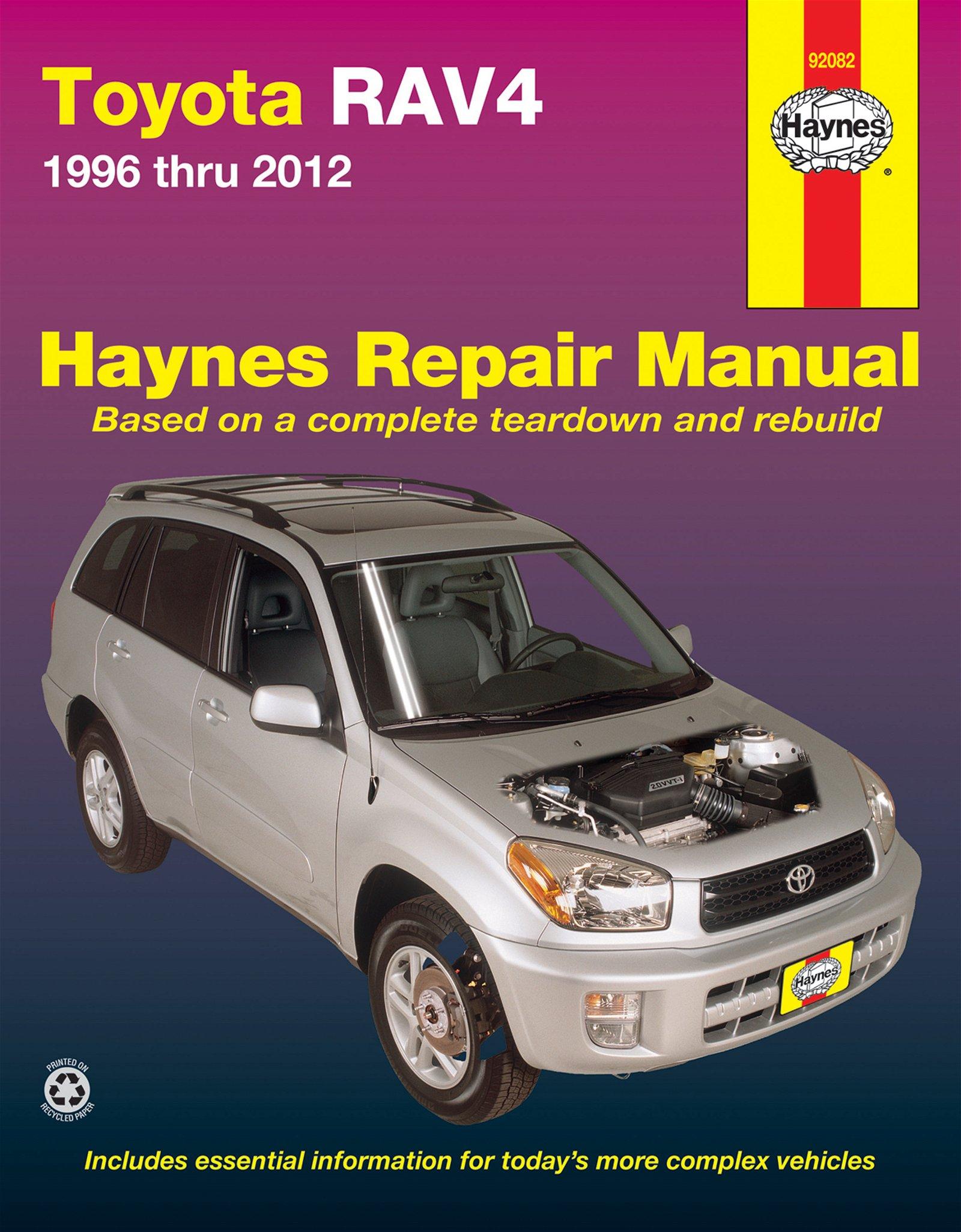 [Manuel US en Anglais] Toyota RAV4  '96 -  '12