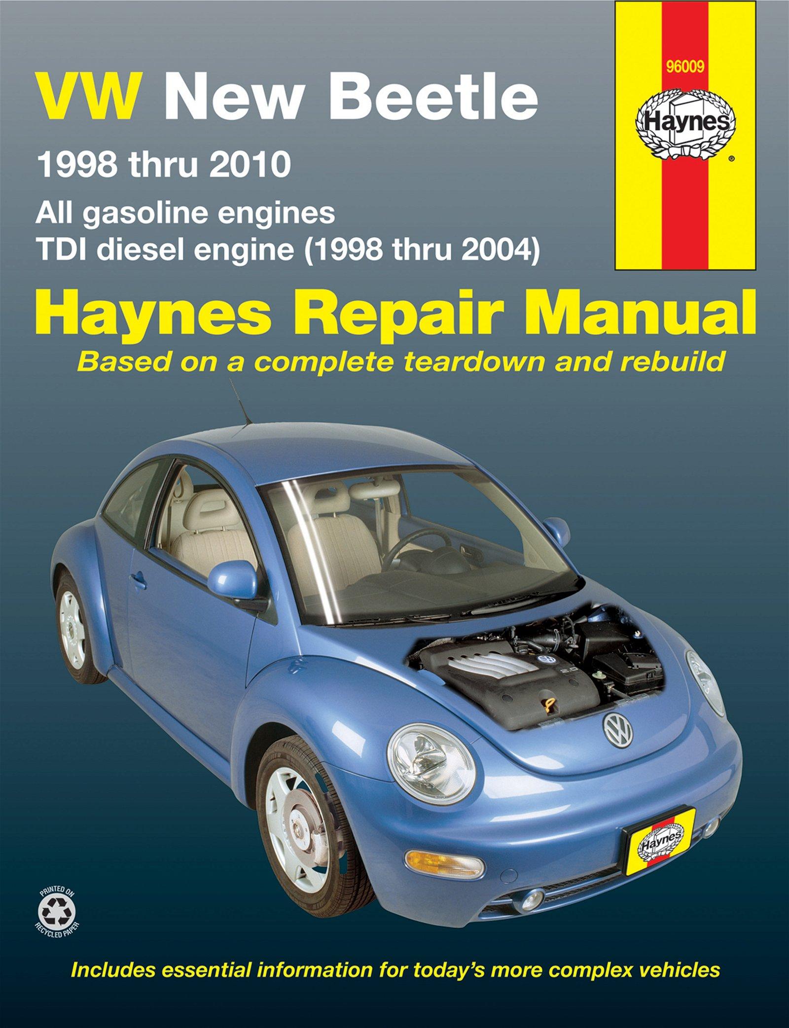 [Manuel US en Anglais] VW New Beetle,  '98 -  '10