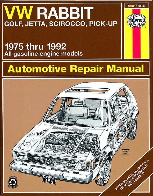 [Manuel US en Anglais] VW Rabbit, Jetta  '75 -  '92