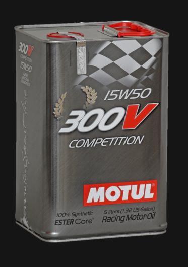 Huile moteur 300V COMPETITION 15W50 5L