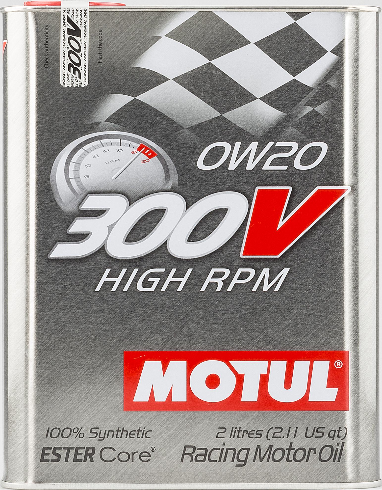 HUILE MOTEUR 300V HIGH RPM 0W20 2L