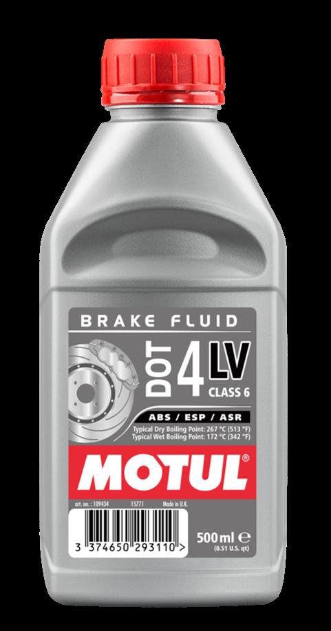 Liquide de frein DOT 4 LV