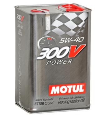 HUILE MOTEUR 300V POWER 5W40 5L