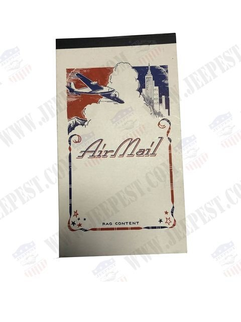 BLOC NOTE AIR MAIL
