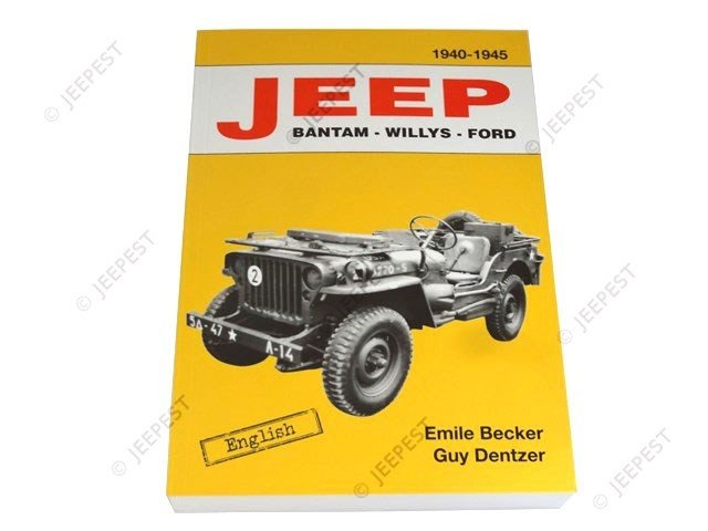 LIVRE JEEP BANT WILLYS FORD BECKER VERSION ANGLAISE NET
