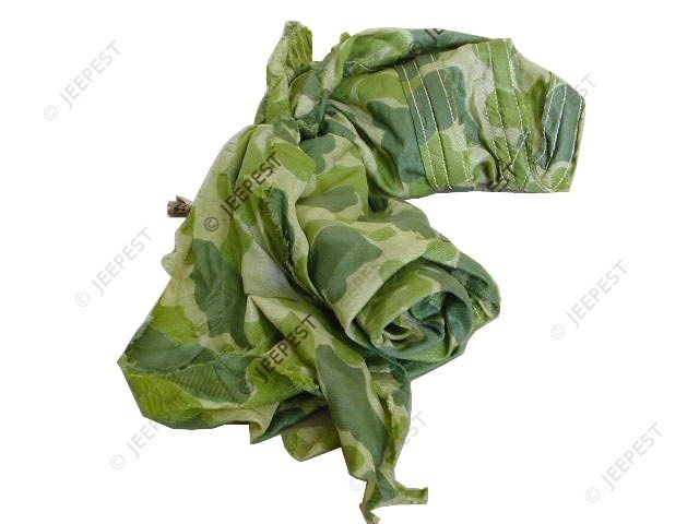 FOULARD CAMOUFLE TOILE PARACHUTE DDAY