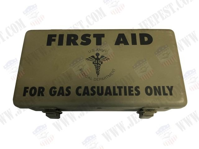 BOITE FIRST AID KIT GAS CASUALITIES USA