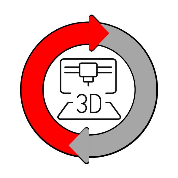Refabrication 3D sur mesure
