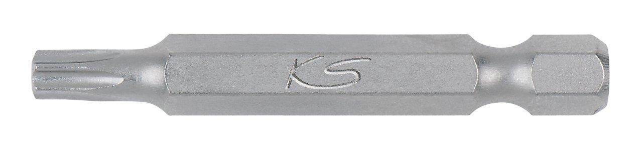 KS Tools 911.2780 Boite de 5 Embouts de vissage torx perc/é T10 50 mm 1//4